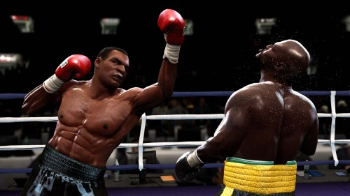 Before his descent into weirdness, Tyson was a ferocious, unbeatable brute. EA tries to capture those days in FN: Round 4.