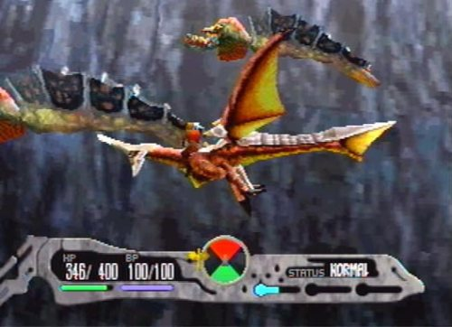 Panzer Dragoon Saga used a unique approach to combat, fusing elements of turn-based RPGs into a realtime battles.