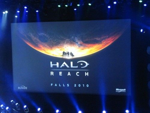 Bungie writer and Halo novelist Joseph Staten intoduces Halo ODST (due this September) and the surprise announcement, Halo Reach (due fall 2010).