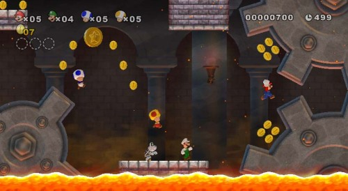 Cooperative multiplayer Mario is more fun than you can imagine.