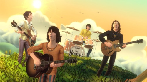 Harmonix illustrates how will handle the Beatles in their love phase.